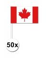 Handvlag Canada set van 50