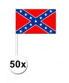 Handvlaggen Confederatie 50x