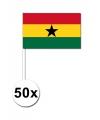 Handvlag Ghana set van 50