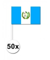 Handvlag Guatemala set van 50