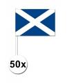 Handvlag Schotland set van 50