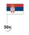 Handvlag Servie set van 50 stuks