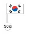 Handvlag Zuid Korea pakket van 50